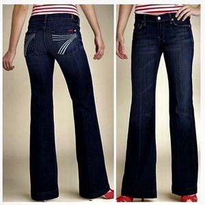 7 for all Mankind | Dojo 7 Pocket Flare Jeans 27